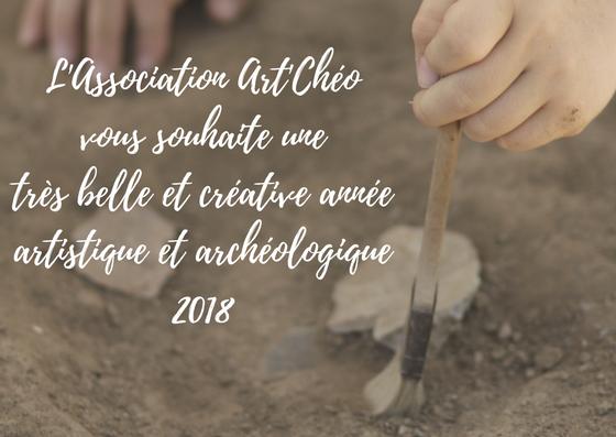 Vœux 2018 Art'Chéo